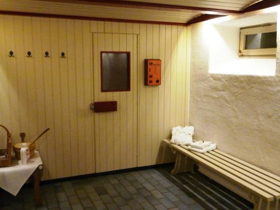 Romantik Hotel Fürstenhof: Sauna