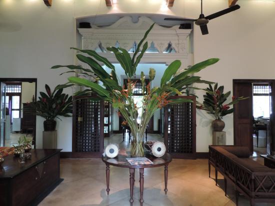 Galle Fort Hotel Restaurant: foyer