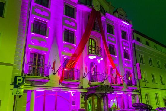 Hotel Branicki: Iluminacja z okazji 10-lecia Hotelu Branicki