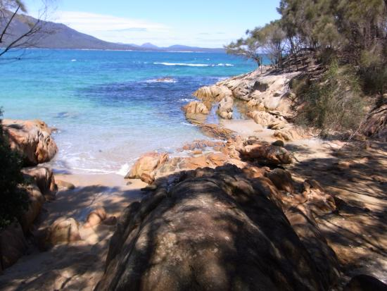 Glenfern, Australien: Honeymoon Bay, Freycinet NP