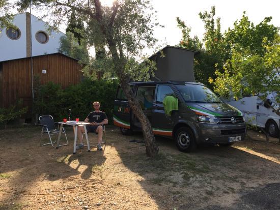 Santaella, Spain: Our pitch