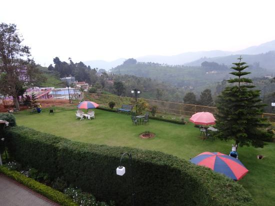 Nahar Retreat & Wellness Spa Resort: view from the balcony
