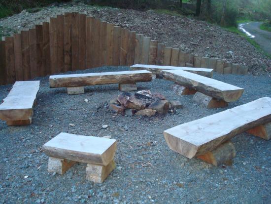 Trallwm Forest Cottages: Bon Fire area