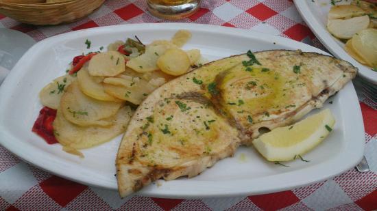 Restaurante pata rusa,coktail & bar: Swordfish