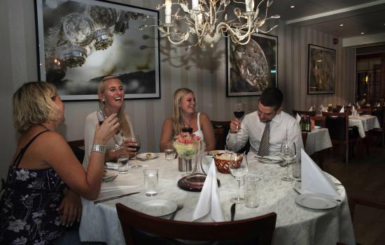 Solvgarden Hotel & Feriesenter: Restauranten