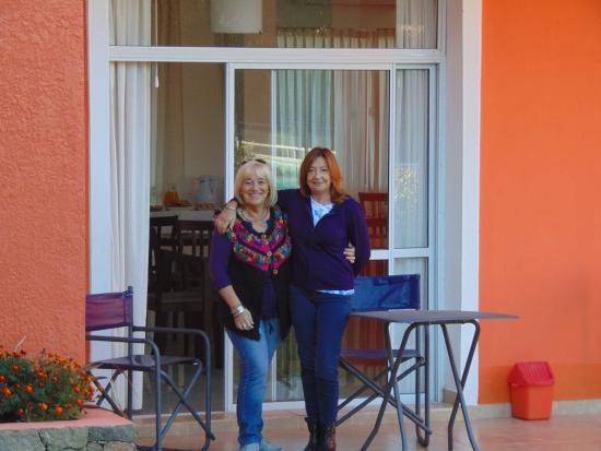 Minas Hotel: A  salida del comedor