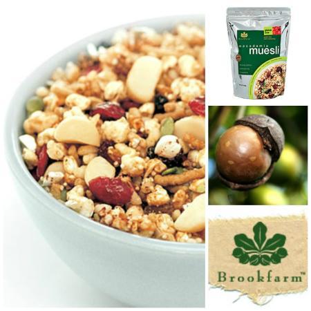 brekky at Under Wraps with Brookfarm