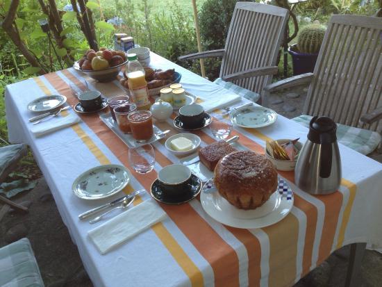 Maison du Pierrou : Petit déjeuner