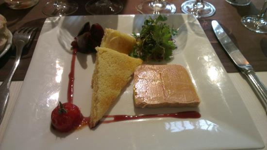 Osny, France: Foie Gras