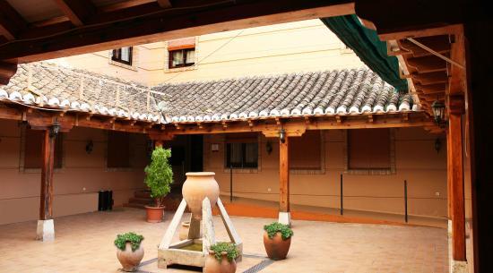 Hotel Las Tablas: PATIO