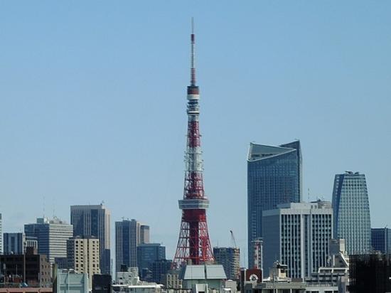 Keikyu EX Inn Takanawa: 東京タワー