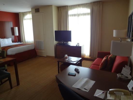 Residence Inn Beverly Hills: habitación ultimo piso
