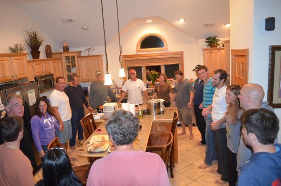 Blown Kiteboarding: OBX Kitecation group dinner