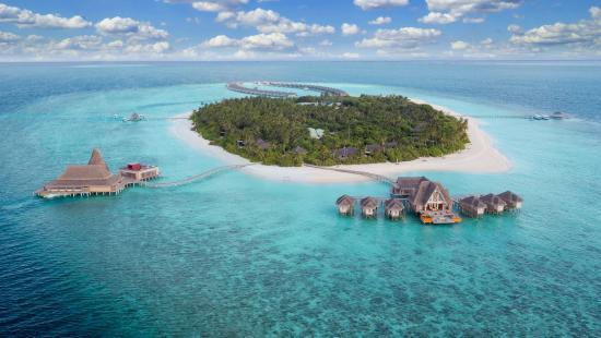 Anantara Kihavah Maldives Villas: Aerial View of Anantara Kihavah
