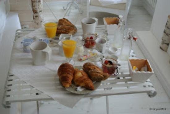 Les Remparts: Breakfast