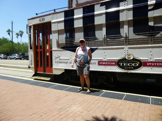 TECO Line Streetcar System : strange woman not included