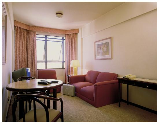 Hotel L'Hirondelle : Sala Apartamento Silver