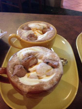 Panera Bread: Chocolate quente!!!