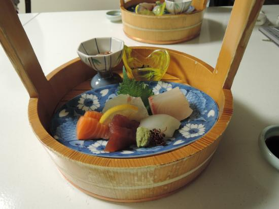 Hotel Mielparque Matsuyama : 刺身5種盛(一人前)