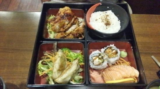 bento box picture of maru japanese korean restaurant bedford park tripadvisor. Black Bedroom Furniture Sets. Home Design Ideas