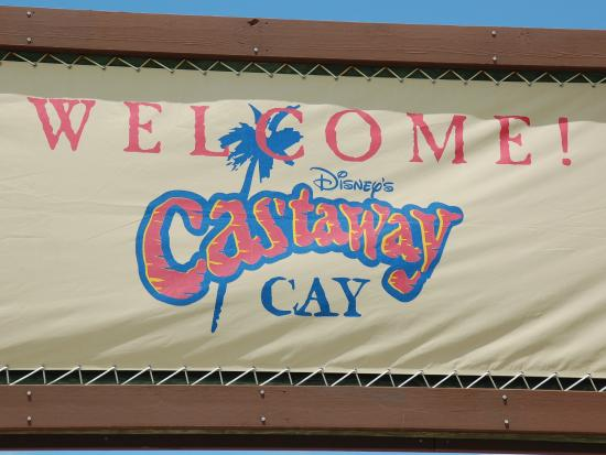 Sandy Point, Île de Great Abaco : Welcome to Castaway Cay