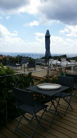 Fiore di Machja : la terrasse panoramique