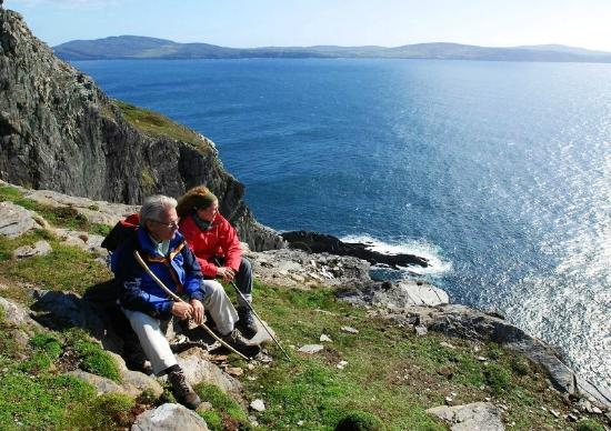 Letterfrack, Irlanda: Walking along the Wild Atlantic Way