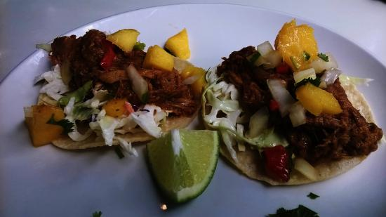 Scratch Restaurant & Lounge: Pulled Pork Tacos.. Delicious