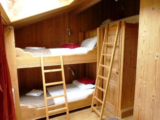 Hotel Les Cretes Blanches: chalet chambre familiale