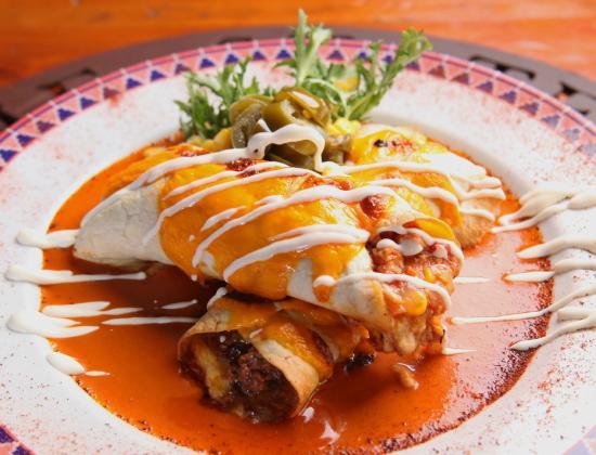 Tex Mex Bobby Peru : Burrito.