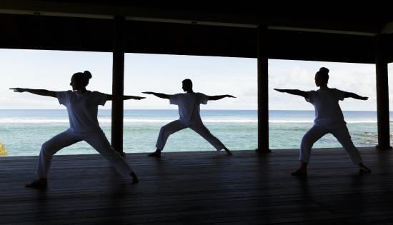 Anantara Veli Maldives Resort: Yoga