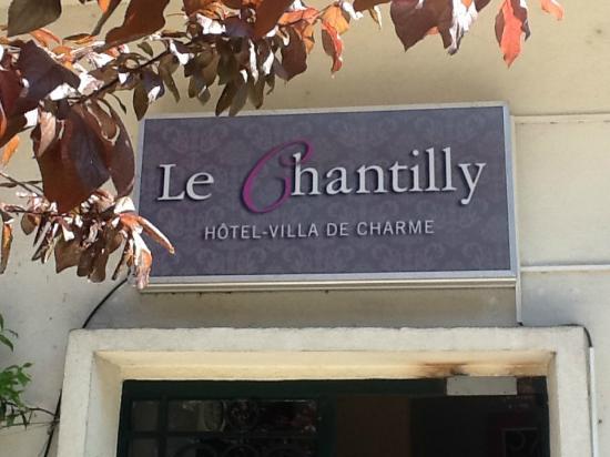le Chantilly : entrée