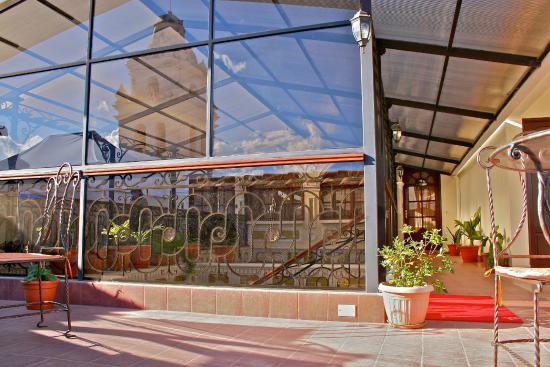 San Marino Royal Hotel: Terraza