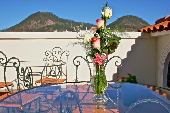 San Marino Royal Hotel : Terraza de día