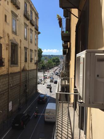 Morelli 49 B&B : Vista dal balcone
