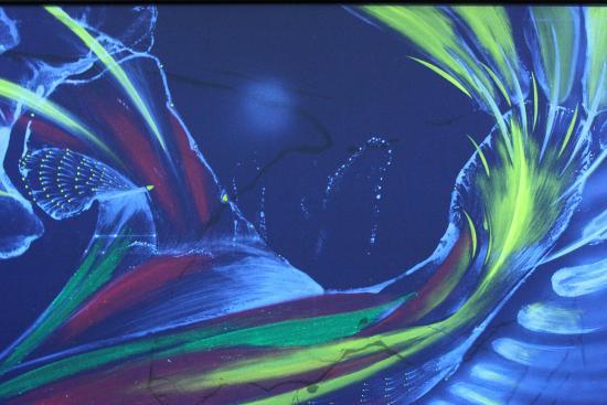 Art Studio 'Inner Light' : nur ein Bild, mehr sollten die Besucher selbst anschauen