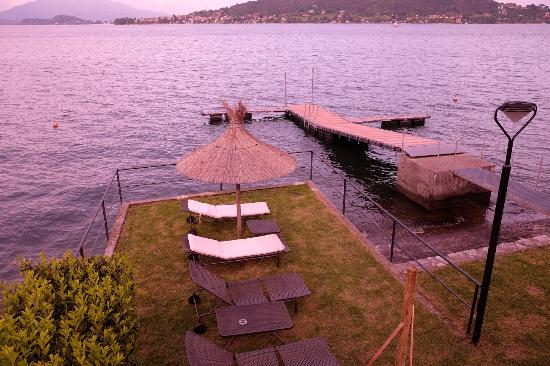 Bel Sit Hotel-Ristorante: Lake front