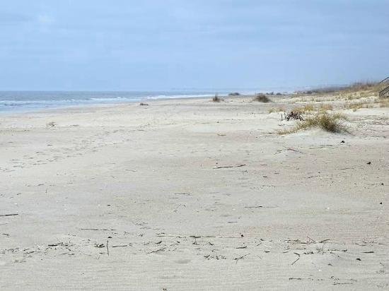 Beach Walk Location Oak Island Nc