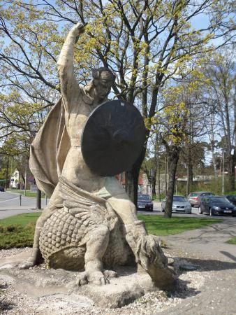 Lacplesis Monument