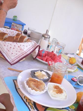 Hotel Margarita: le petit déjeuner