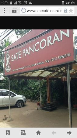 Sate Pancoran