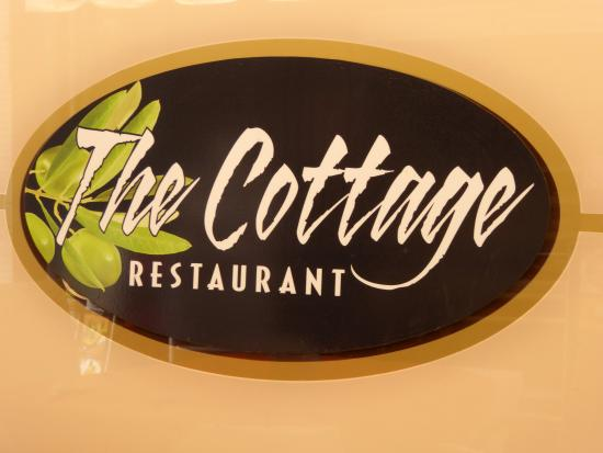 The sign of The Cottage Restaurant Picture of The Cottage Los