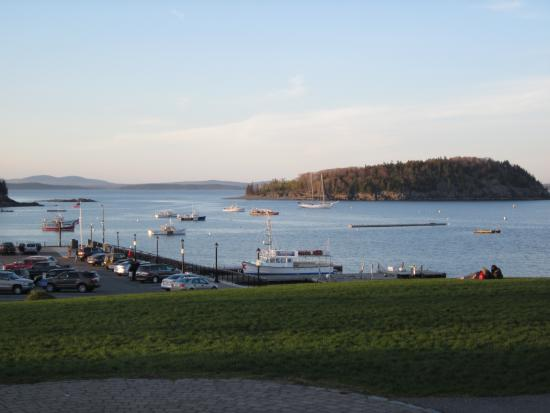 Agamont Park: view orf Frenchman Bay from Agamont