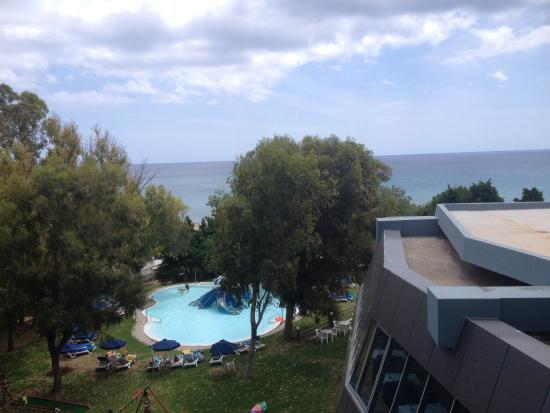Hotel Calypso : Views from the room and by the pool may 2015