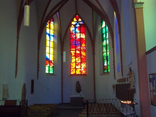 Catholic Church Of St Martin Stained Glass Windows