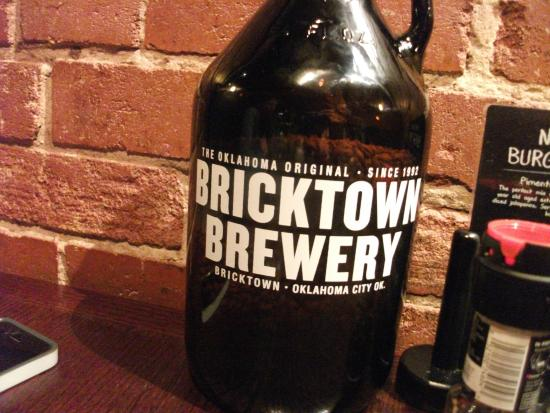 Bricktown Brewery Restaurant: Growler