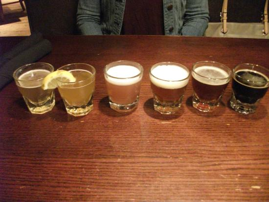 Bricktown Brewery Restaurant: Flight