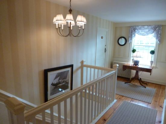 Upstairs Landing Gives An Idea Of
