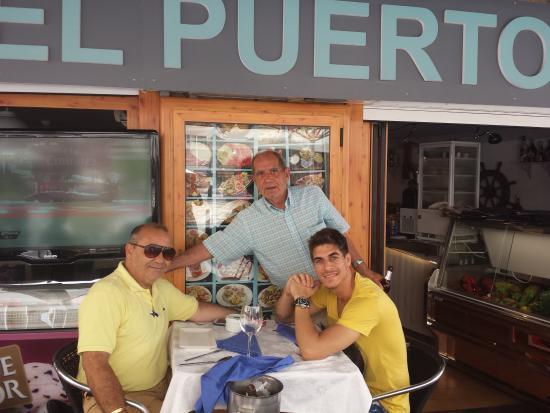 Gran visita fotograf a de restaurante marisqueria el for Restaurante puerto rico madrid