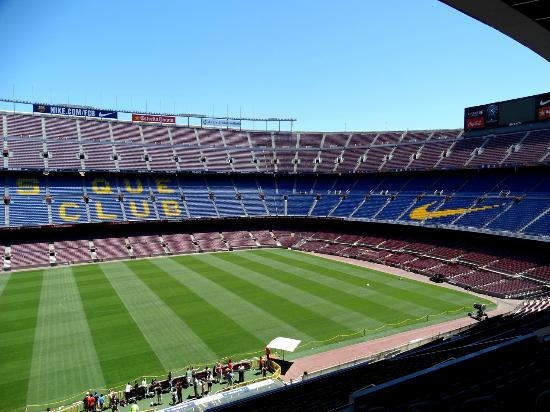 Basic Construction Picture Of Camp Nou Barcelona